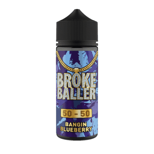 Bangin Blueberry 80ml Shortfill